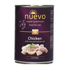 Feuchtnahrung NUEVO CAT Kitten Chicken 400 g