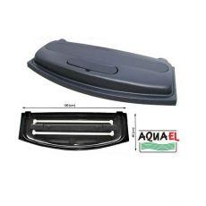 Beleuchtung für Aquarium mit gewölbter Frontscheibe 120x40cm IPX7
