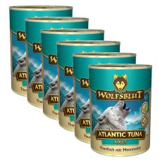 Nassfutter WOLFSBLUT Atlantic Tuna, 6 x 395 g
