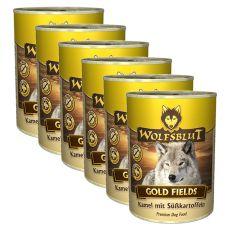 Feuchtnahrung WOLFSBLUT Gold Fields, 6 x 395 g
