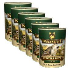 Feuchntnahrung WOLFSBLUT Hunters Pride, 6 x 395 g