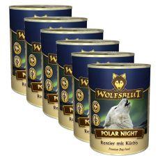 Feuchtnahrung WOLFSBLUT Polar Night, 6 x 395 g