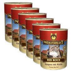 Nassfutter WOLFSBLUT Red Rock, 6 x 395 g