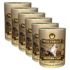 Nassfutter WOLFSBLUT Western Cape, 6 x 395 g