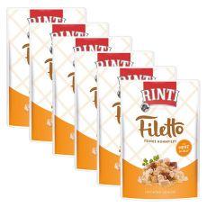 Beutel RINTI Filetto Huhn+ Hühnerherzen, 6 x 100 g