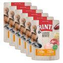 Frischbeutel RINTI Leichte Beute Rind + Hühnerfleisch, 6 x 400 g