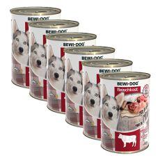 New BEWI DOG Nassfutter – Rindfleisch 6 x 400 g