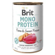 Dosenfutter Brit Mono Protein Tuna & Sweet Potato, 400 g
