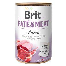 Feuchtnahrung Brit Paté & Meat Lamb, 400 g