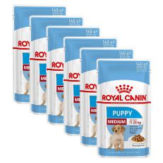 Nassfutter Royal Canin Medium Puppy 6 x 140 g