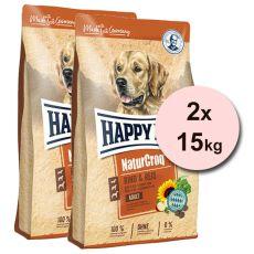 Happy Dog NaturCroq RIND UND REIS 2 x 15 kg