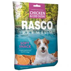 RASCO PREMIUM Kabeljau- und Huhnsushi 80 g