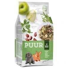 PUUR Rabbit Junior - Gourmet-Müsli für junge Kaninchen 600 g