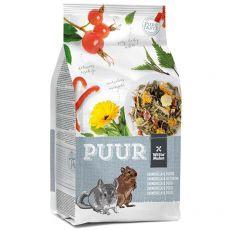 PUUR Chinchilla & Degu - Gourmet-Müsli für Chinchillas und Degu 500 g