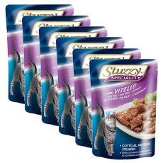 Stuzzy Speciality Cat - Kalb, 6 x 100 g