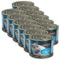 Dosenfutter für Katzen Leonardo - Fisch 12 x 200g