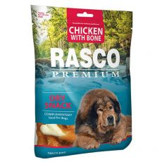 RASCO PREMIUM Knochen mit Hühnchenfleisch umwickelt 80 g