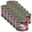 Dosenfutter für Katzen Leonardo - Geflügel 12 x 200g