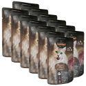 Feuchtnahrung Leonardo Fleisch-Menü, 12 x 85 g