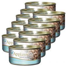 Applaws Cat - Dose für Katzen mit Thunfisch, 12 x 70g