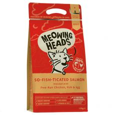MEOWING HEADS So Fish Ticated Salmon 1,5kg