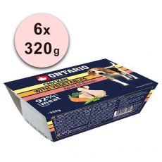 ONTARIO Schale Chicken with Vegetable - 6 x 320g