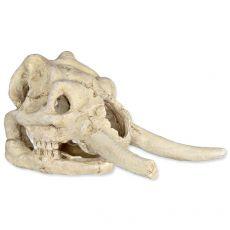 Aquarium Dekoration - Tierschädel, Mammut