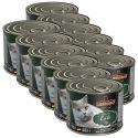 Feuchtnahrung für Katzen Leonardo, Ente 12 x 200 g