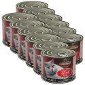 Nassfutter für Katzen Leonardo, Rind 12 x 200 g
