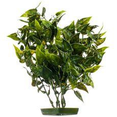 Aquariumpflanze aus Kunststoff - Herzblätter, 28 cm