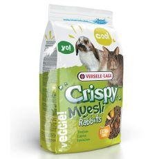 Crispy Muesli Rabbits 1kg - Futter für Kaninchen