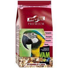 Parrots Premium 1kg - Futter für große Papageien