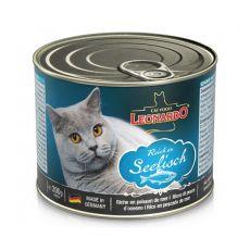 Dosenfutter für Katzen Leonardo - Fisch 200g