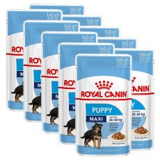 Nassfutter Royal Canin Maxi Puppy 10 x 140 g