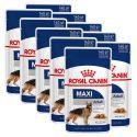 Feuchtnahrung Royal Canin Maxi Adult 10 x 140 g