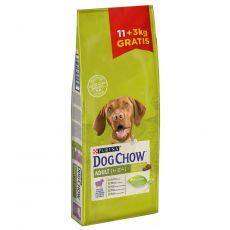 PURINA DOG CHOW ADULT Lamb 11 + 3 kg GRATIS