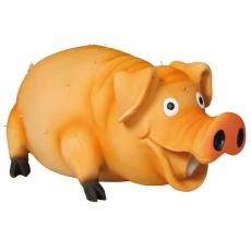 Hundespielzeug - Schwein mit Borstenhaaren - 21cm