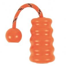 Gummi Hundespielzeug Fun Mot - orange - 9cm