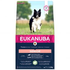 EUKANUBA Senior Small & Medium Breed Lamb 2,5 kg