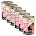 Feuchtnahrung CARNY ADULT Rind, Pute und und Shrimps 6 x 400 g