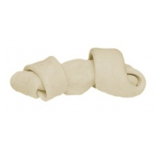 Kauknochen, gebunden - weiß, 50g, 11cm