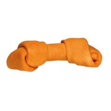Kauknochen, gebunden - orange, 60g