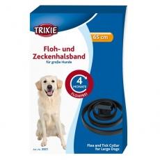Halsband für Hunde gegen Parasiten - 65 cm - schwarz