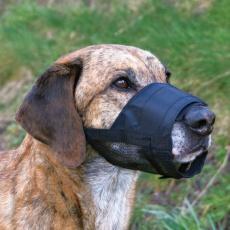 Maulkorb für Hunde mit Netzeinsatz, Größe 4