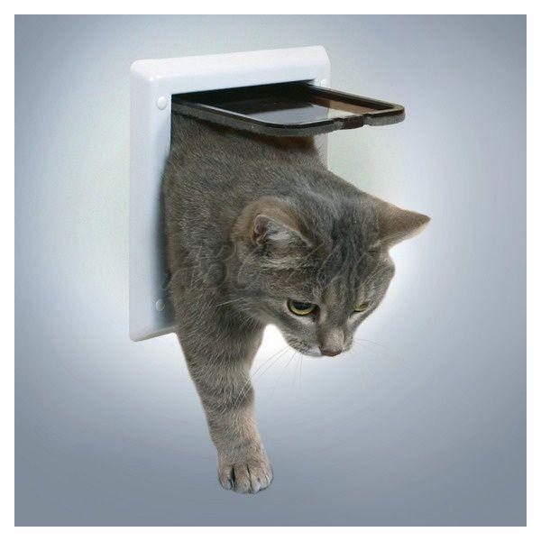 t rchen f r katzen mit zwei positionen wei abc zoo. Black Bedroom Furniture Sets. Home Design Ideas