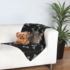 Hundedecke / Katzendecke - Knochen
