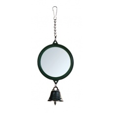 Spiegel mit Glöckchen für Vögel, 5,5 cm