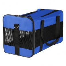 Tragetasche für Hunde oder Katzen - blau, 46 x 28 x 26 cm