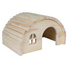 Häuschen für Nager mit rundlichem Dach - klein