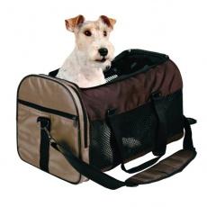 Transporttasche für Hunde und Katzen - braun, 31 x 32 x 52 cm